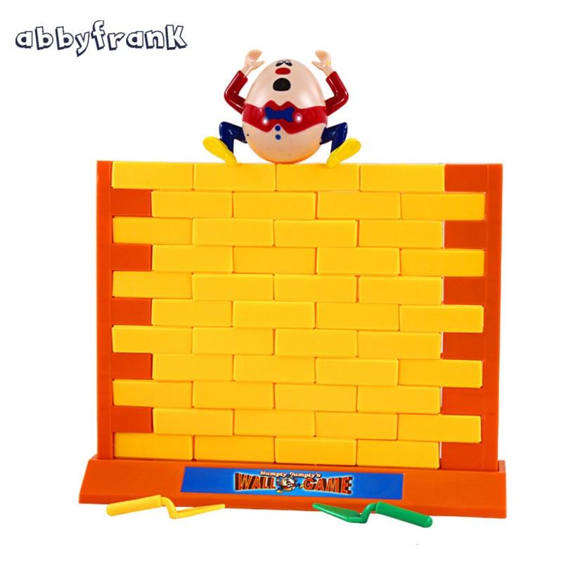 Abbyfrank Demolire Gioco Muro Anti-Stress della Famiglia Del Desktop genitore-figlio Interattivo Gioco Da Tavolo Educativi Giocattoli di Puzzle per Bambini