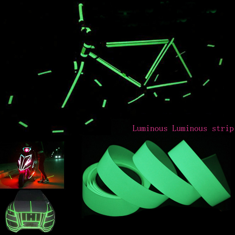10MM  24MM Width 10M Luminous Tape Self-adhesive Glow In The Dark Safety Warning Security Stage Home Party Decorations Tapes graffiti party diy glow in the dark luminous pigment lemon yellow