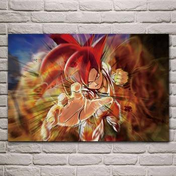 Dragon ball z dbz anime fantaisie salon décoration maison mur art décor bois cadre affiche KA656