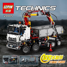 2016 New LEPIN 20005 2793Pcs Technic Series Mercedes-Benz Arocs Model Building Kits Minifigures Blocks Bricks Children Toy 42043