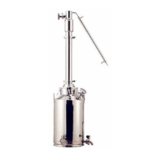 Бесплатная доставка перегонка оборудования Systerm 50L, 3''column, домашнего пивоварения, дома дистиллятор