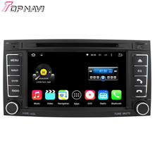 Top Quad Core Android 5.1.1 Car DVD Stereo For VW TOUAREG 2004-2011/T5 Multivan to 2009/Transporter to 2009 With Radio GPS Map
