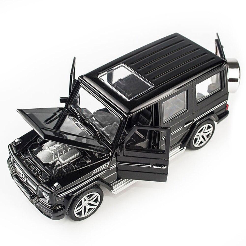 Модель автомобиля из 1:32 сплава, модель автомобиля, игрушечный звуковой светильник, игрушечный автомобиль для G65 SUV AMG, игрушки для мальчиков, детский подарок