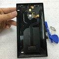 De volta da bateria habitação tampa traseira substituição porta traseira shell caso com nfc carregamento sem fio para nokia lumia 1520 volta habitação