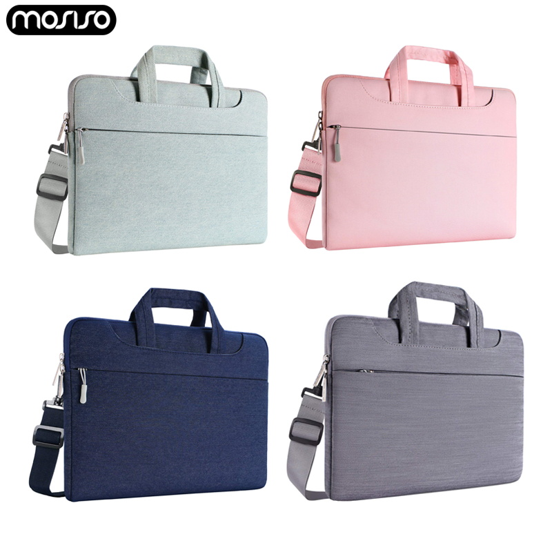 MOSISO Laptop Bag Sleeve 13.3 14 15.4 15.6 inch Notebook Bag Case For Macbook Air Pro 13 15 Computer Shoulder Handbag Briefcase-in Laptop Bags & Cases from Computer & Office