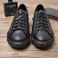 2016 New Fashion Japanese Leisure Men Shoes Spring Autumn Quality PU Leather Men Board Shoes Breathable Casual Men Flats shoes