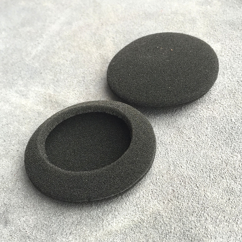 Ear Pads Thicken Foam 55mm Earbud Sponge Cover 5.5cm Headphone Foam Ear Pads For Headphones Logitech G330 Headset 2pcs/pair