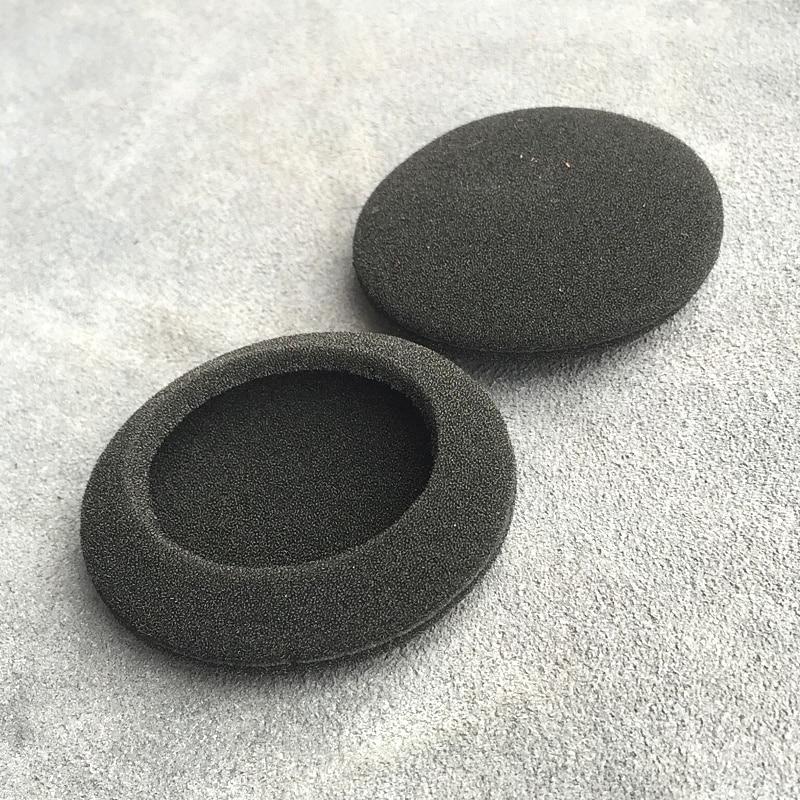 Earphone Accessories Straightforward Ear Pads Thicken Foam 55mm Earbud Sponge Cover 5.5cm Headphone Foam Ear Pads For Headphones Logitech G330 Headset 2pcs/pair