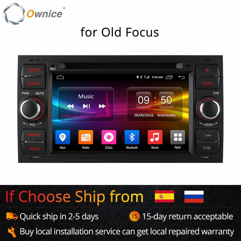 Ownice C500 Android 6.0 Octa 8 Core In Dash Auto Dvd-speler Voor Ford Mondeo Focus Transit C-MAX GPS Navi radio Ondersteuning 4G LTE