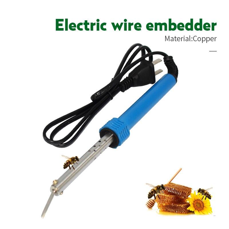 220V 30W Electric Gear Wire Embedder Beehive Nest Box Burying  Heating Installation Tools Buried Spleen Bee Beekeeping Tool