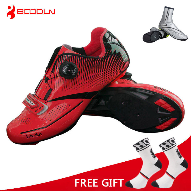 Boodun Outdoor Sports Cycling Shoes Men Road Bike Racing Shoes Breathable Ultralight Athletic Self-Locking Bicycle Shoes Zapatos sidebike men women breathable athletic cycling shoes bicycle outdoor sports shoes road bike self locking racing shoes