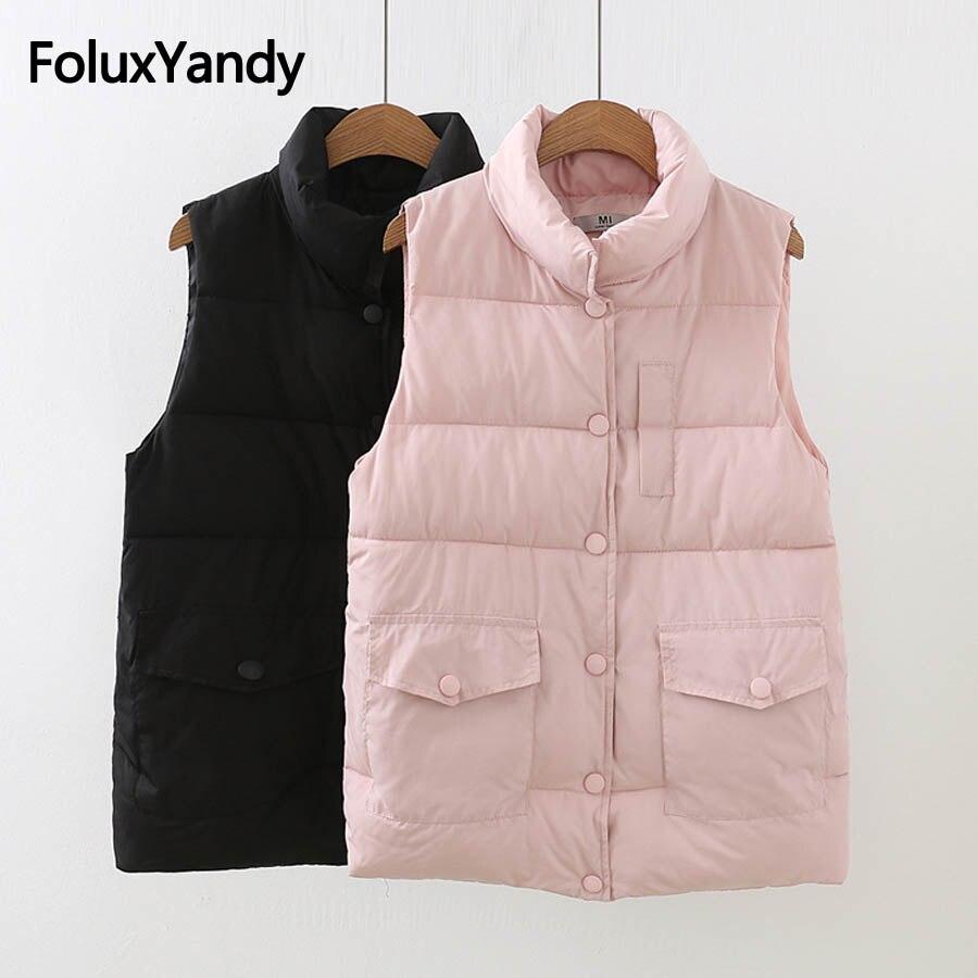 Turtleneck Vest Sleeveless Casual Women Warm Thick Vest for Winter Autumn Plus Size 5XL Outerwear KKFY2488