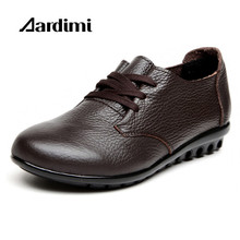 Обувь по заводским ценам высокое качество женская обувь из натуральной кожи Весенняя повседневная обувь однотонная женская обувь на плоской подошве на Zapatos на плоской подошве женские мокасины