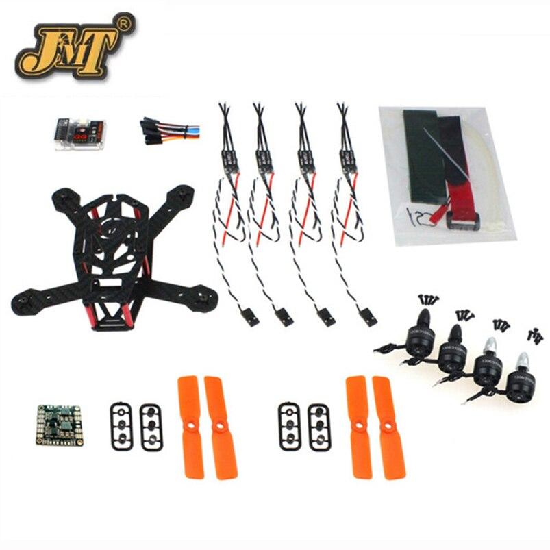 ᗕJMT DIY marco Kit QQ 150mm Mini RC quadcopter H150 fibra de ...