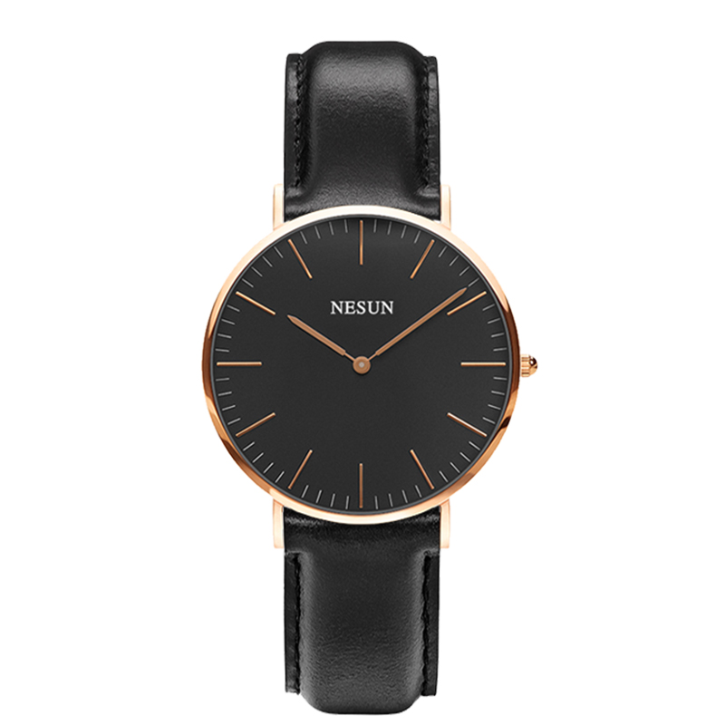Switzerland Nesun Watch Women Luxury Brand Japan MIYOTA Quartz Movement Women Watches Genuine Leather Waterproof Clock N8801-LW2