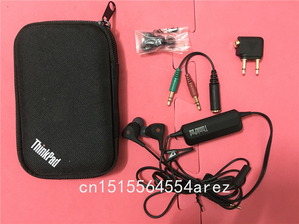 New Original Lenovo ThinkPad Noise reduction earbuds for ThinkPad X1 carbon X230 X260 X270 and so on all laptop 0B58573