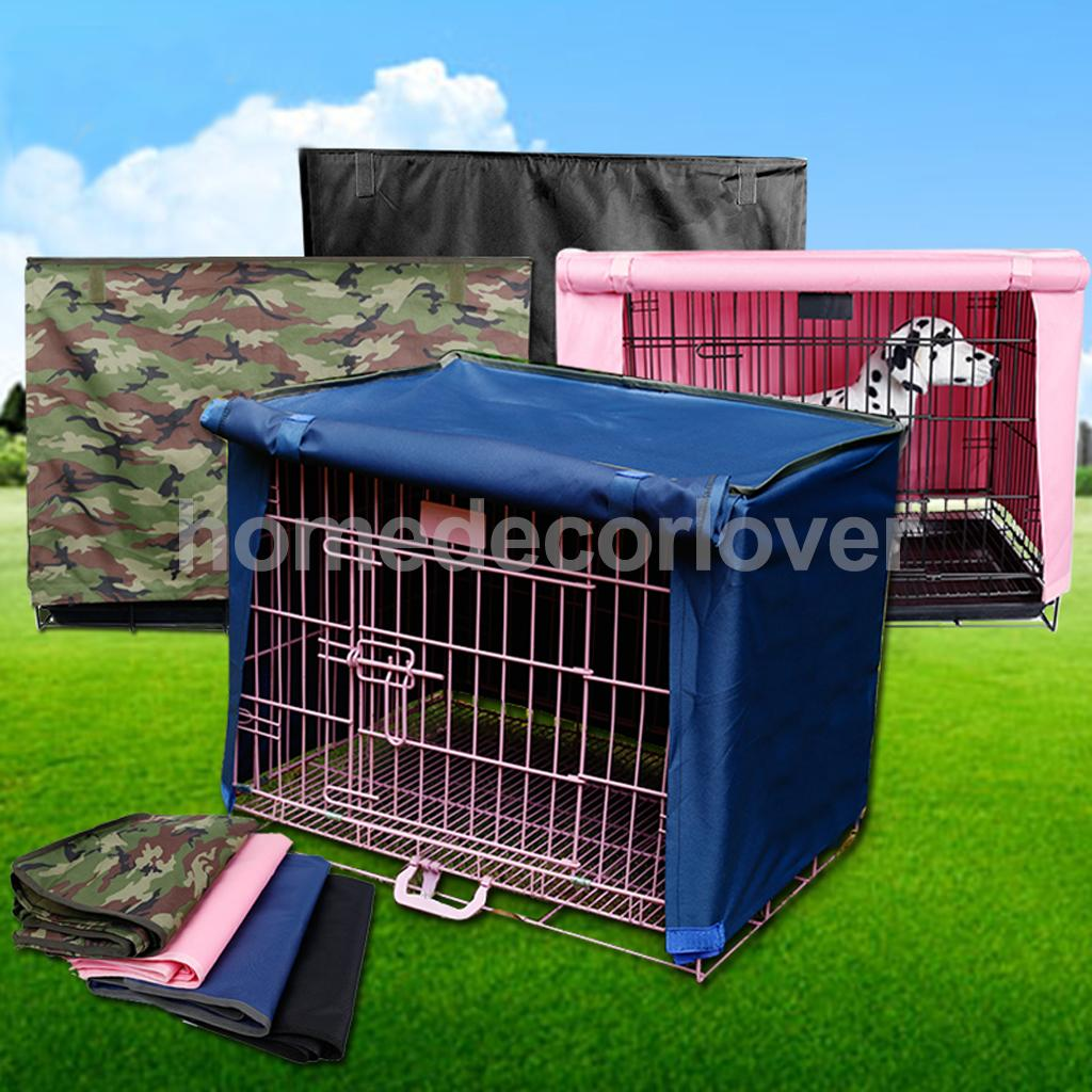 Pet Dog Crate Cage Kennel COVER Sunshine Rain Protect