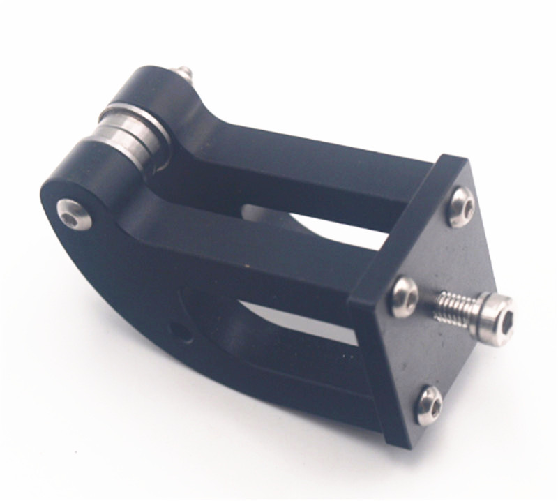 Funssor Anet A8 Upgrade Aluminum Alloy Y-Belt Tensioner Kit Black Anodized Y Axis Timing Belt Tensioner