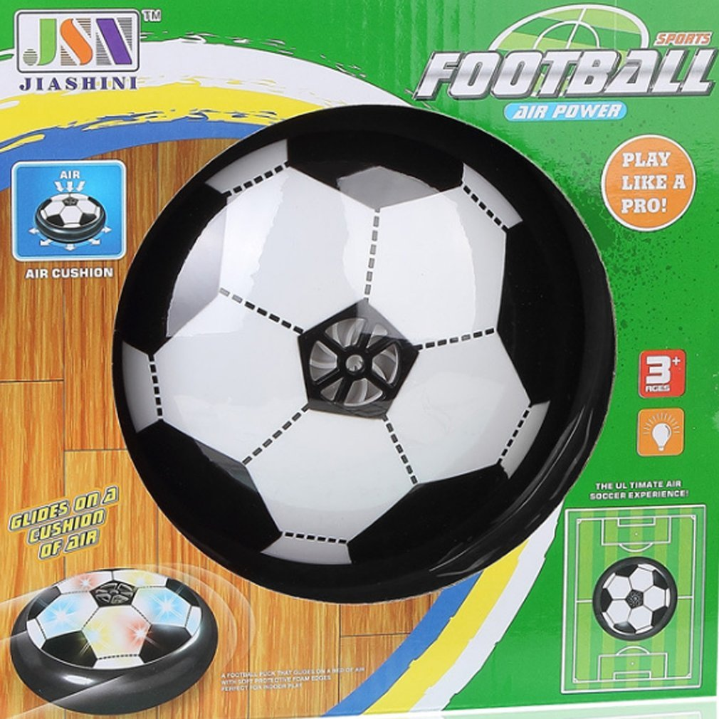 LED Light Electric Suspended Game Lighting Air Cushion Football Indoor Sports Toys Hover Ball Multi-surface Hovering Gliding Toy ...