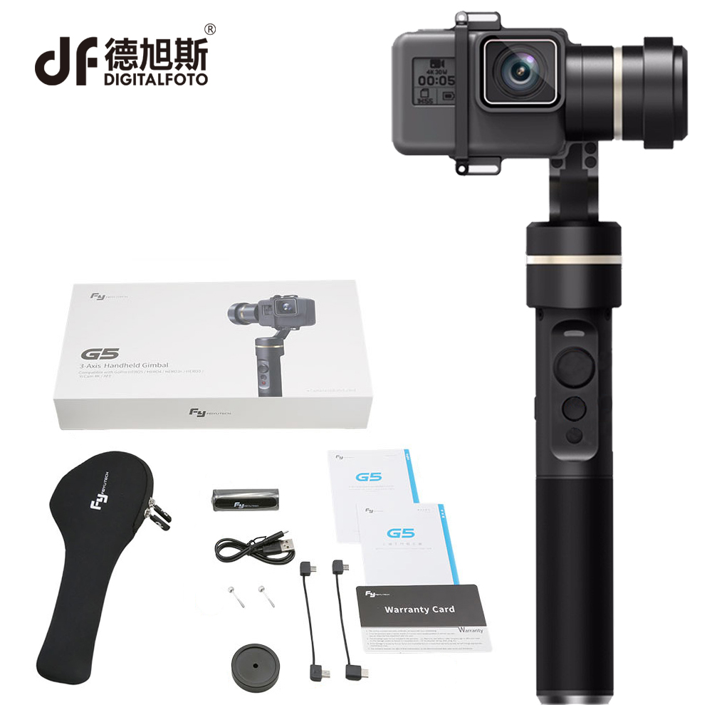 DIGITALFOTO FEIYU fy G5 3 axis handheld waterproof action sport camera stabilizer Gimbal steadicam for xiaoyi