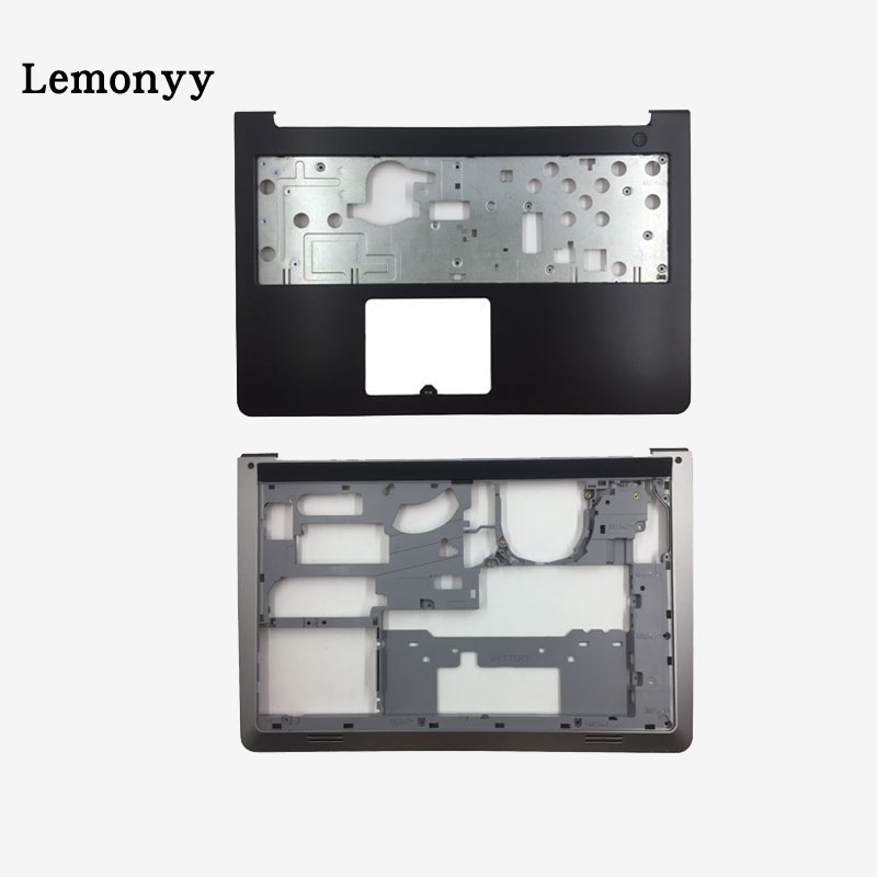 New For Dell Inspiron 15-5000 5545 5547 5548 15M Laptop Palmrest Upper case+Base Bottom Cover Lower Case DP/N 0WHC7T new for lenovo ideapad yoga 13 bottom chassis cover lower case base shell orange w speaker l