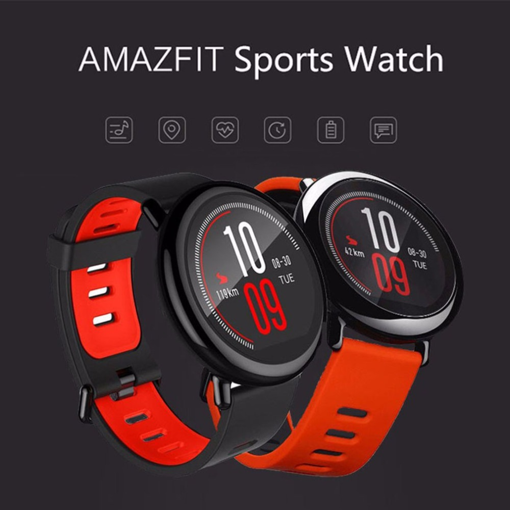 Wami Watch Millet Sports Watch Bluetooth Music Running Smart Bracelet GPS Track Real time Monitoring