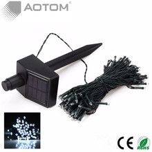 1pc FREE SHIPPING 15M 100 LED Solar Power Fairy Lights Holiday Lighting Xmas Holiday Party Garden Tree Decoration String Outdoor