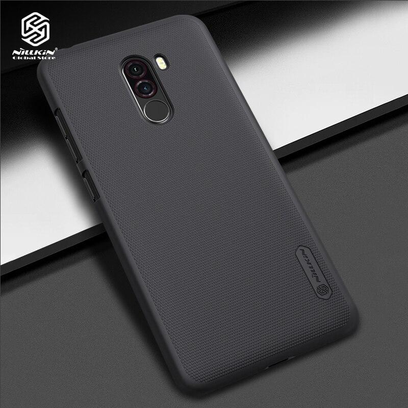 Nillkin case for Xiaomi Pocophone F1 cover thin PC Hard cover for Xiaomi Poco F1 phone shell