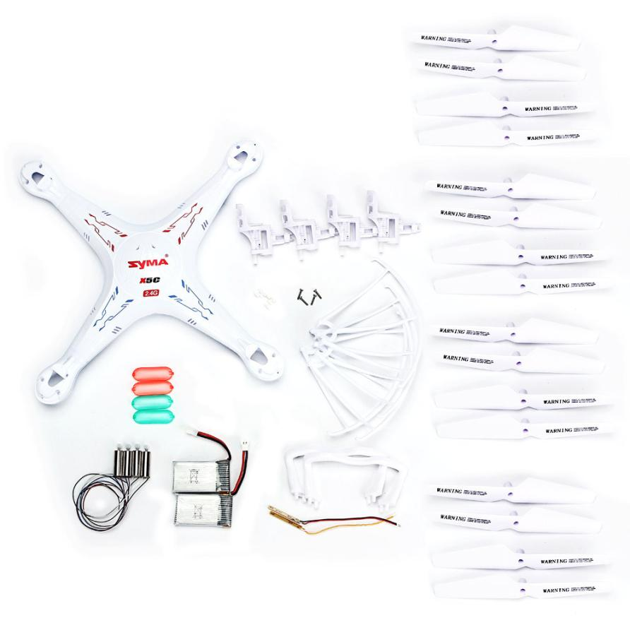 Syma X5 X5C X5C-1 Quadcopter Spare Parts Crash Pack Kit Replacement Z815 syma x5 x5c x5c 1 explorers new version without camera transmitter bnf