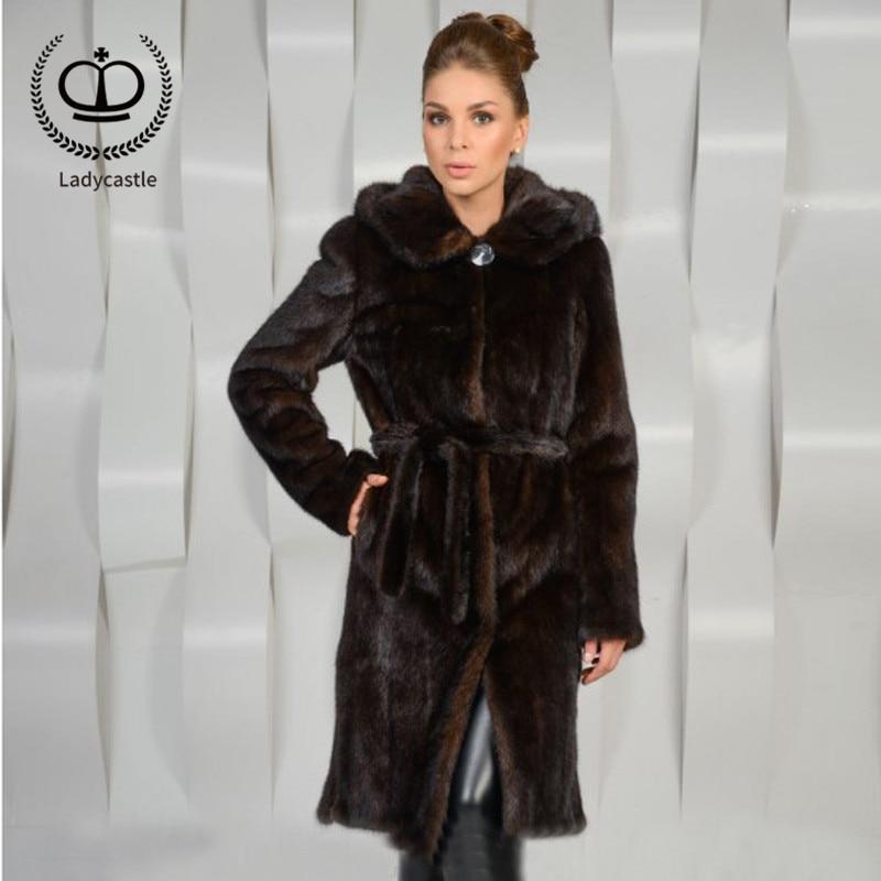 Véritable Naturel Réel Vison Outwear Fourrure Complet 2018 Avec Native Hiver Long Femmes Capot Nouvelle Pelt De Veste Mkw Chaud Manteau 189 Coffee vn0N8mwO