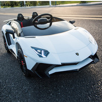 LP750 4 SV Outdoor Toy Electric Super Car Chargable Double Children Ride on Car Scissor Door LED Light Music Remote Control Baby
