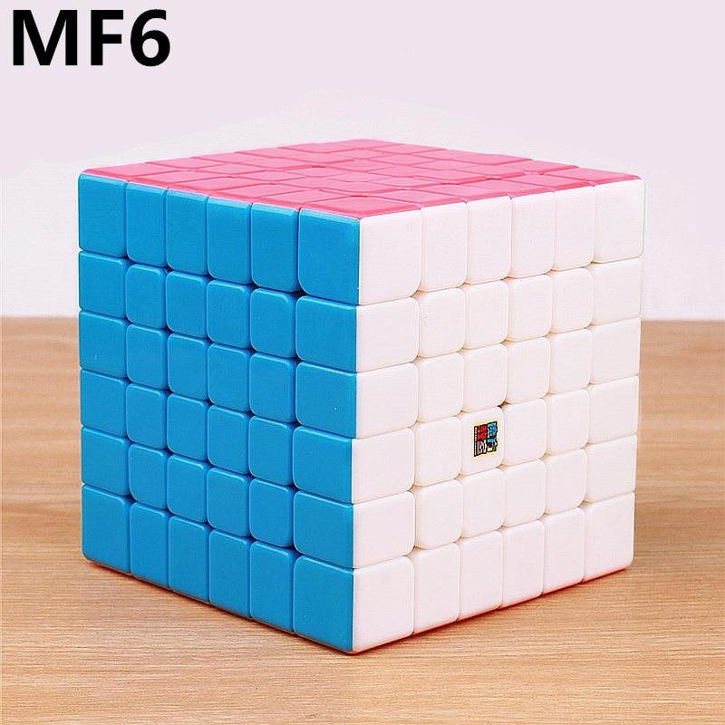 Moyu MF6 Cubing classe 6x6 Cube magique sans autocollant professionnel puzzle vitesse cube 6x6x6 cubo magico jouets pour enfantsMoyu MF6 Cubing classe 6x6 Cube magique sans autocollant professionnel puzzle vitesse cube 6x6x6 cubo magico jouets pour enfants