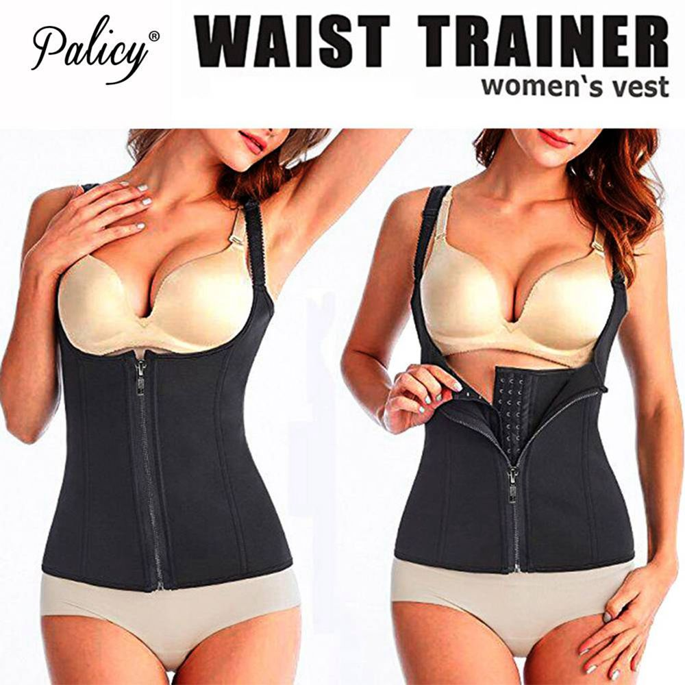 c5a62f0429 Palicy Bodysuit Women Modeling Strap Slimming Waist Trainer Fat ...
