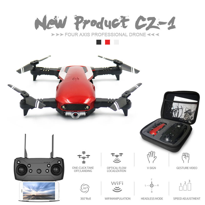 Newest CZ-1 Optical Flow RC Drone with WiFi FPV 1080P HD Dual Camera Aerial Video RC Heclicopte Aircraft Quadrocopter Vs SG106Newest CZ-1 Optical Flow RC Drone with WiFi FPV 1080P HD Dual Camera Aerial Video RC Heclicopte Aircraft Quadrocopter Vs SG106