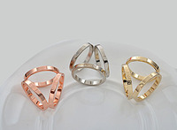 Gold Silver Scarf Ring Scarf Buckle Shawl Ring Clip Scarve Fastener Jewelry Gift
