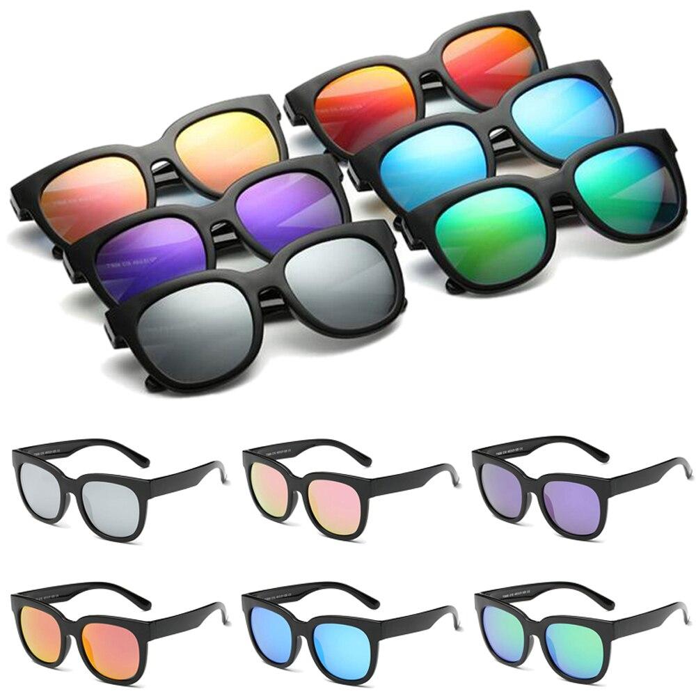 Children Polarized Sunglasses Oculos de sol Boys Girls Vintage Black Frame UV400 Mirror Lens Kids Sun Glasses Gafas Male SKT1505 uv400 polarized mirror orange lens wood frame sunglasses