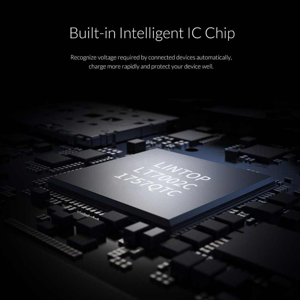 Orico Mini Charger Mobil Ganda Usb untuk Ponsel 5V2. 1A Ponsel Pengisian untuk iPhone X Cepat Charger Usb Adaptor untuk Samsung Xiaomi