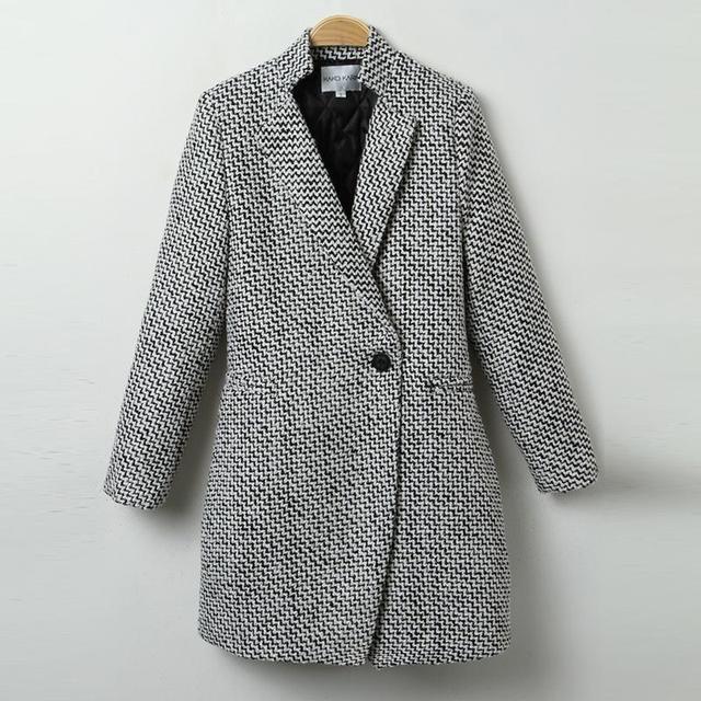 High Quality Winter Warm Women Abrigos Ukraine Style Plus Size Gray Female Coat Plus Size Long Section Manteau Femme