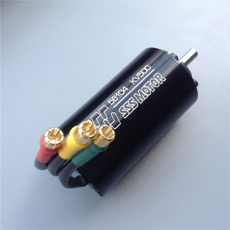1pcs SSS 56104 KV1400 KV790 KV500 KV420 Brushless Motor 6 Polos Brushless Inner Rotor Shaft Dia