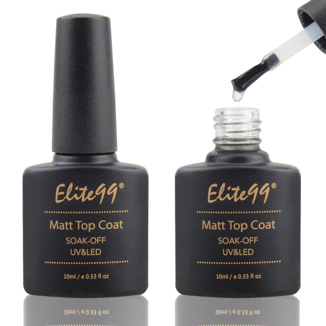 Elite99 Matte Top Coat Qt Nail Gel Polish