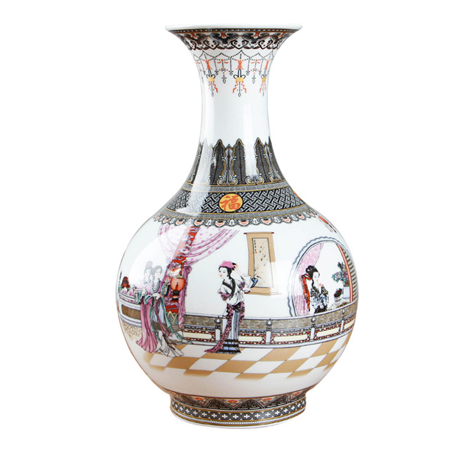 New Design Jingdezhen Antique Traditional Chinese Painting Of