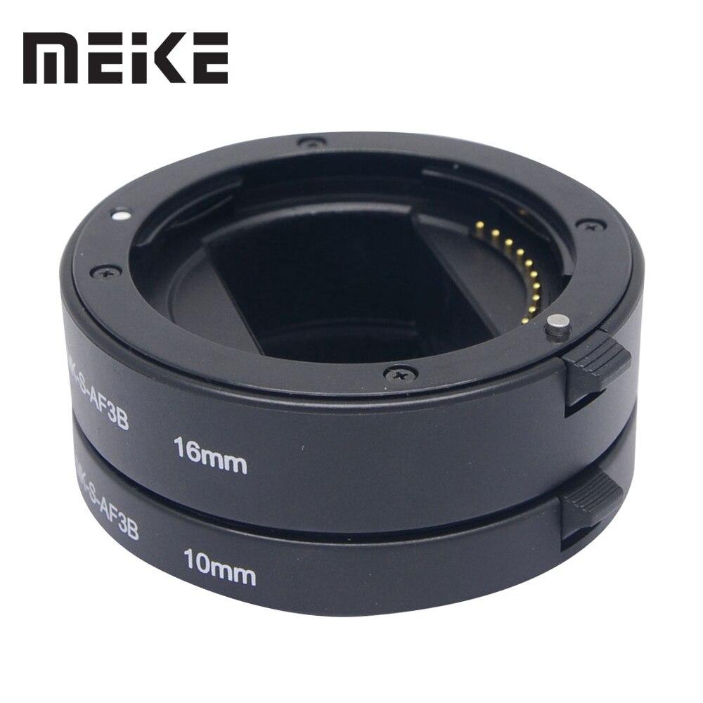 Meike tubo de extensión automático para Sony e-mount NEX-7 NEX-6 NEX-5R NEX-3N NEX-F3 NEX-5N NEX-5C NEX-C3