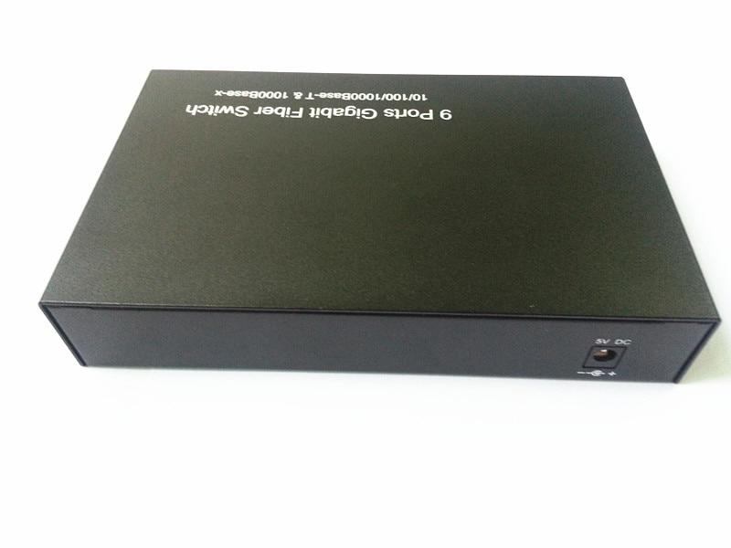 9 portów Gigabit Ethernet Optical Fibre Switch1310 / 1490/1550 / - Sprzęt komunikacyjny - Zdjęcie 4