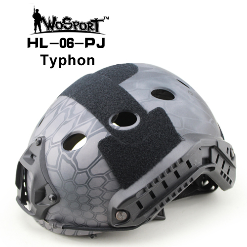 ФОТО WOSPORT Tactical FAST Helmet PJ TYPE for Airsoft Painball Military Adjustable CS Dial Pararescue Jump Protective Ops-Core Helmet