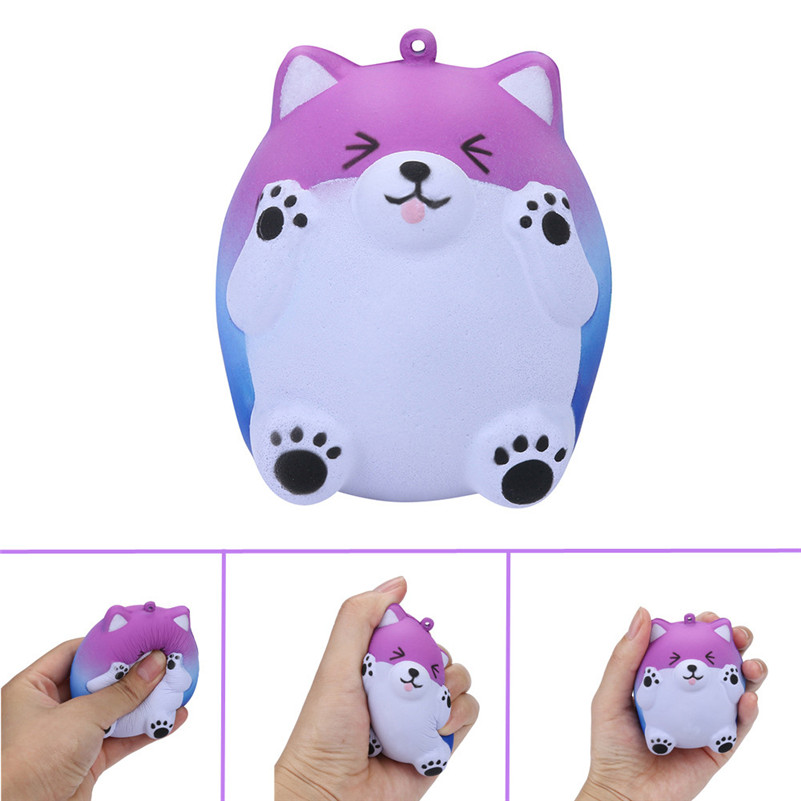 Galaxy Squeeze Squishy Cute Bear Slow Rising Cream Scented Decompression Toys Squishy  Cute Funny Kids Gift Toy A1
