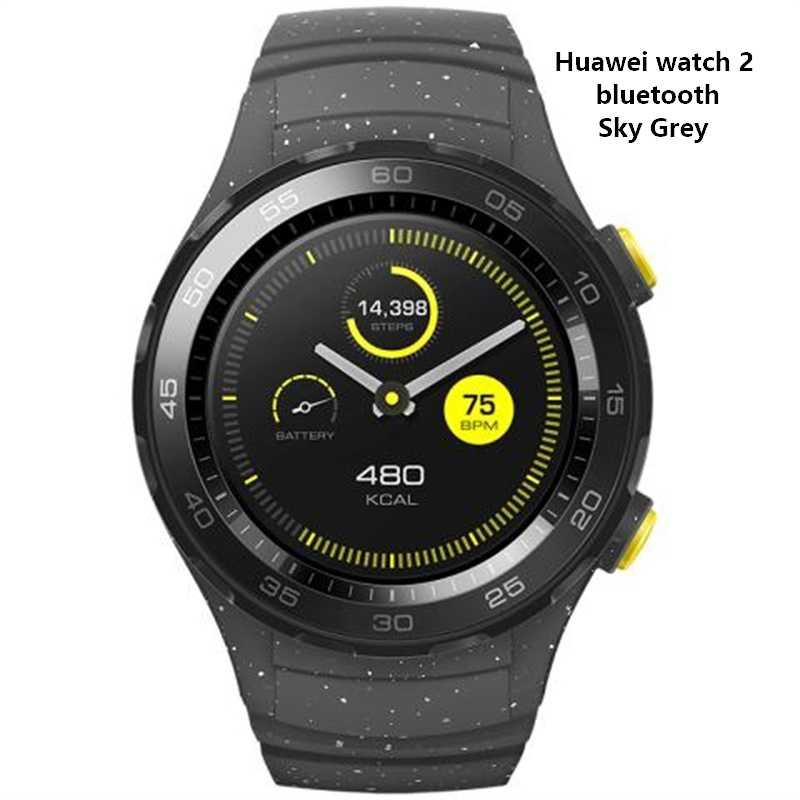 11505b7cf059 Оригинальный huawei часы 2 bluetooth4.1 спортивные smartwatch IP68  Водонепроницаемый NFC gps пульсомер управление музыкой