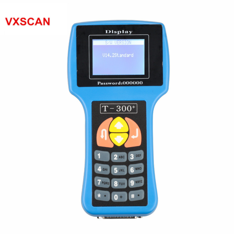 Main Unit for Sale of T300 Key Programmer 2015.02 English Version T 300 For Multi-Brand Vehicle Car Diagnostic T300 10pcs bnc female to bnc female f f connector adapter for cctv cable extension
