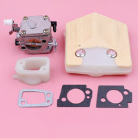 Carburetor Carb Adaptor Spacer For Husqvarna 288 281 Chainsaw Spare Part Air Filter Gasket Kit