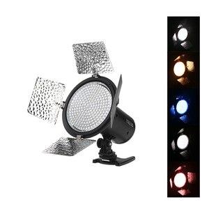 Image 2 - Yongnuo Luz LED bicolor para vídeo, iluminación de relleno con 4 filtros de color, YN 216 para cámara DV DSLR Canon Nikon, YN216 5500K/3200 5500K