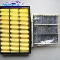 Set Filters For Mitsubishi Pajero V73 V77 V93 V97 Air Filter Cabin Air Filter S870 1